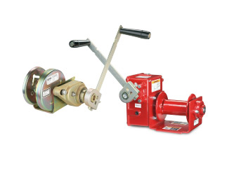 Hand Crank Winches at Thern