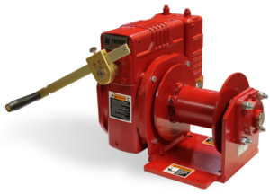 2W40 Worm Gear Series Hand Winches at Thern