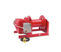 Helical Worm HWF Series Winches