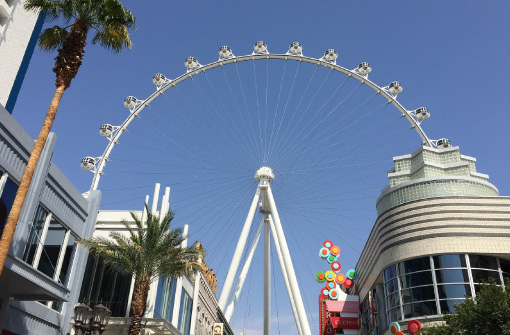 Las Vegas Linq Ferris Wheel at Thern
