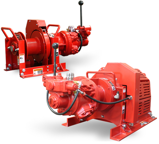 Mini TA Series Air Winches