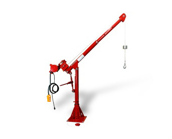 Portable Work Station Cranes at Thern