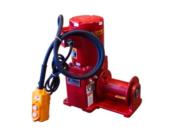 Racking Board Winches at Thern