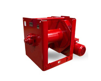 Radial Stacker Winches at Thern