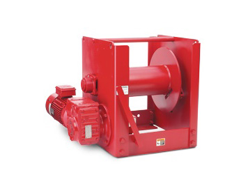 Railcar Positioning Winches at Thern
