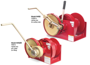 Double Reduction Series Hand Winches at Thern