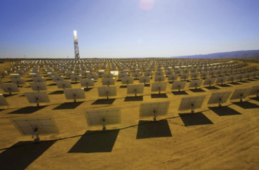 Ivanpah Solar Winch at Thern