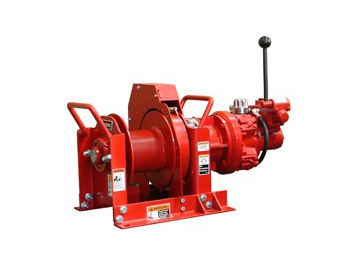 Utility Maintenance Winches at Thern