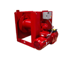 Helical Spur WS Series Winches