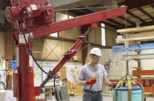 Stationary Work Station Cranes at Thern