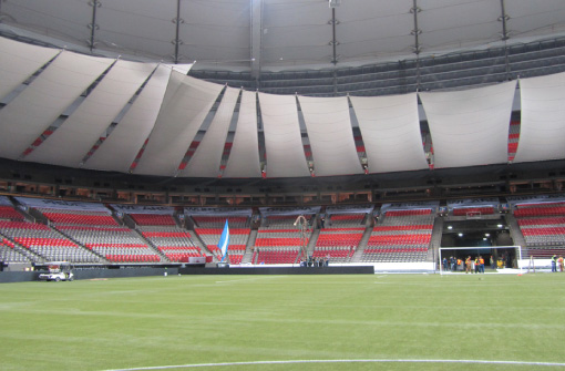 Stadium Reduction System BC Place at Thern