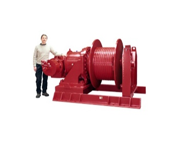 Conveyor Take up Tensioning Winches