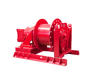 Conveyor Take Up Winches at Thern