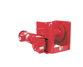 Load Out Chute Winches at Thern