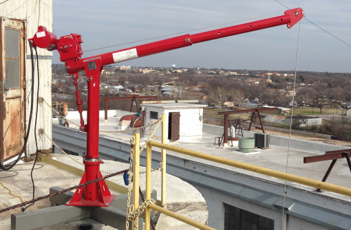 Thern Long Lift Silo Cranes