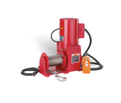 Dura Hoist Helical Worm Gear Series Winches at Thern