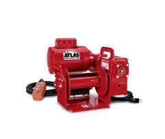 Atlas Worm Gear Series Portable Winches at Thern